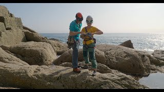 Sea-cliff climbing essentials 1: Approching a route by teamBMC