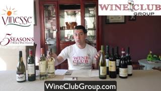 http://wineclubgroup.com In this video, Eric shares his review of the 5 Seasons Wine Club from Vinesse. It's a case club, delivering...