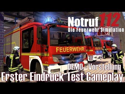 Notruf 112 ★ DEMO - Vorstellung ★ Erster Eindruck Test Gameplay [Deutsch/HD]