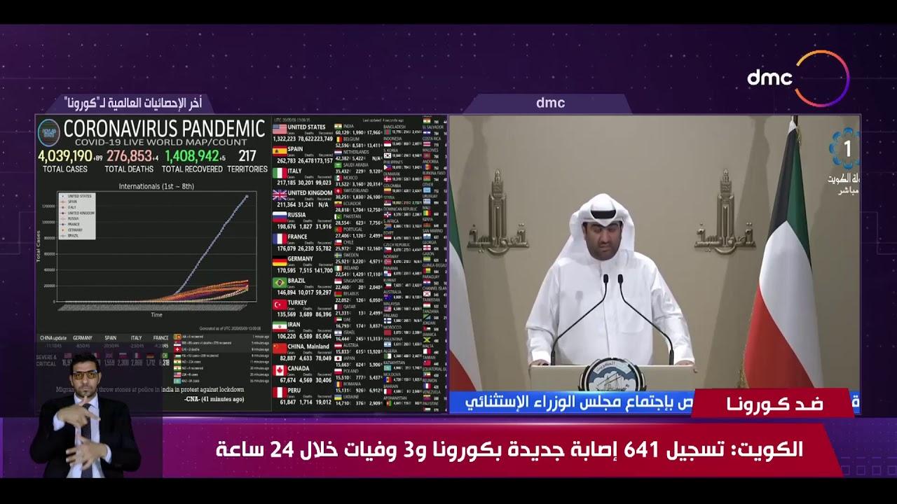 نشرة ضد كورونا - الكويت: تسجيل 641 إصابة جديدة بكورونا و 3 وفيات خلال 24 ساعة