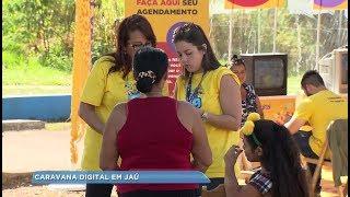 Jaú recebe Caravana da TV Digital e esclarece dúvidas da população