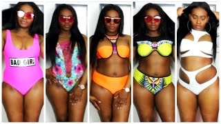 Video Spring to Summer Thick/ Cruvy girl |Swimsuit Try on Haul 2017 MP3, 3GP, MP4, WEBM, AVI, FLV Desember 2018