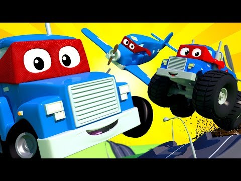 Carl The Super Truck - THE SUPER LIVE ! Car City - Police Cars Trucks Cartoons For Kids - Official (видео)