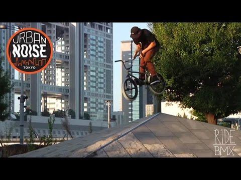 Urban Noise: BMX STREET RIDING IN TOKYO JAPAN   RideBMX