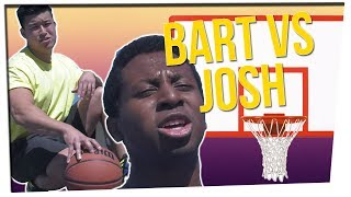 Subscribe ➜ http://bit.ly/JoinJKPFam Watch Sick&Twisted Charades ➜ https://youtu.be/cPQMDwgZpgo Bart and Josh finally play basketball against each other!