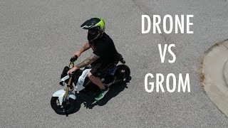 """SKYNET IS LIVE!!! DJI Spark Drone using Active Track Intelligent Flight mode to chase me around the parking lot on my Honda Grom. This was my first time playing with the new active flight modes from DJI and I had fun shooting this video. We ride the MSX125 to an empty school lot and send up the Spark for some Skynet action and I think it turned out awesome.  Remember when Robocop shot that dude in the d*ck? That was awesome.  That was the first movie that I ever watched with my old man. Also one time, we were pulling our boat to the lake to go fishing and it came off of the trailer and flew past us on the highway.  It was awesome but it sucked a$$ because it ruined our weekend.  We had to fish from the bank like a bunch of peasants.  The dji drones are pretty intelligent and I look forward to using these active track modes to create more videos in the future.  Instrumental produced by Chuki.(http://www.youtube.com/user/CHUKImusic)Links to everything I use below.My Bikes:2012 Yamaha WR450F Supermoto2015 Honda MSX125 Grom2008 DRZ400sm SupermotoDiamondback Viper 20"""" BMXMy Gear:Fly Racing MX Helmet: http://amzn.to/2rs2xpqFox Air Space Goggles: http://amzn.to/2so3BeZSpeed & Strength Gloves: http://amzn.to/2sKVkokForce Rider Kevlar Reinforced Riding Pants: eBay GoPro Hero4 Silver: http://amzn.to/2tfJU9kGoPro Hero Session: http://amzn.to/2rs2GJuSena 20s Bluetooth: http://amzn.to/2tfBfUrRAM Mount: http://amzn.to/2sGlkBFCanon T7i: http://amzn.to/2sLG2zlNeewer Ring Light: http://amzn.to/2sLunknUSB Charging Hub: http://amzn.to/2sGavPYCard Reader: http://amzn.to/2sG0ySj2 TB External HD: http://amzn.to/2sLlxCURGB Mechanical Keyboard: http://amzn.to/2sCRPQlJOBY Gorilla: http://amzn.to/2sGkzZlSD Card Case: http://amzn.to/2tCIKnAGET MY DECALS HERE:https://squareup.com/market/en187/justin-the-apparition****FOLLOW ME EVERYWHERE!!!****MY SOCIAL MEDIAS:INSTAGRAM: https://instagram.com/justintheappari...FACEBOOK: https://facebook.com/justintheapparitionTWITTER: https://twitter.com/appar"""
