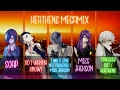 Nightcore ↬ Heathens Megamix [switching Vocals | Mashup]