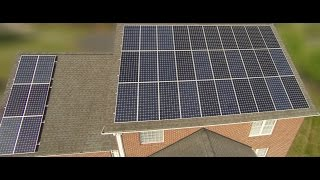15.7kW (DC) roof portion of my solar system is finally installed and complete. This video has 300x time lapse footage of the install ...