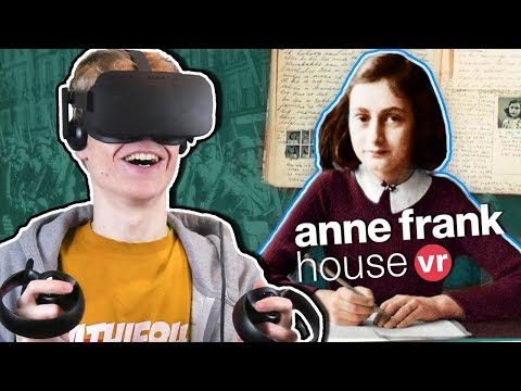 BECOME ANNE FRANK IN VIRTUAL REALITY   Anne Frank House Tour VR Experience (Oculus Rift Gameplay)