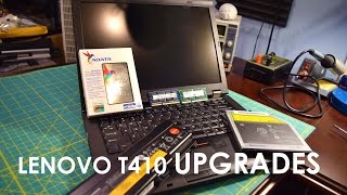 Lenovo Thinkpad T410 Upgrades and Benchmarks 500GB ADATA SSD, 8GB DDR3, New Battery, and More