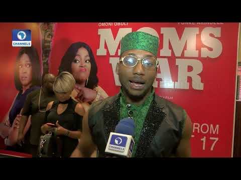 "Nollywood Stars Review Omoni Oboli's ""Moms At War"" 