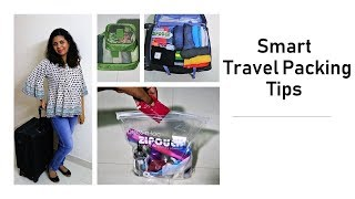 Video Smart Travel Packing Tips - How To Pack A Suitcase MP3, 3GP, MP4, WEBM, AVI, FLV Juni 2019