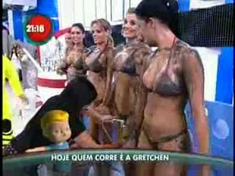 Danilo Abreu e Gretchen na Corrida do Gugu