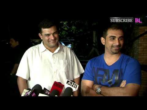 Wrap up party of movie Raja Natwarlal part 1v