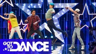 Ashley Banjo, Kimberly Wyatt&Adam Garcia TWERK! | Got To Dance 2014