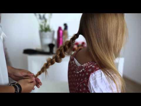 Stylische Dirndl Frisuren | Tutorial 1 von Ludwig & Therese