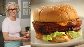 Bacon Cheeseburger Meatloaf- Everyday Food with Sarah Carey by Everyday Food