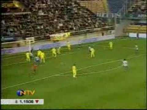 Villareal 4 - Deportivo de La Coruña 3 (видео)