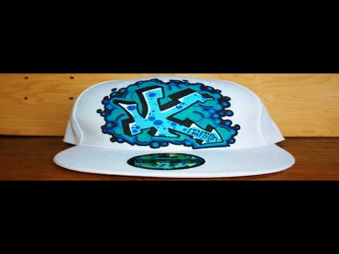 HOW TO GRAFFITI A HAT #5 draw hip hop new era style fashion art tv wars show caps tutorial letters