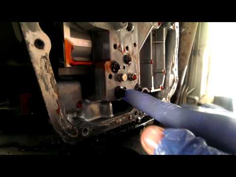 transmission pressure solenoid - this video will show you how to replace the transmission solenoid pack. this can fix issues such as your car being stuck in 2nd gear