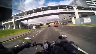8. Harley Davidson Softail Blackline 2011