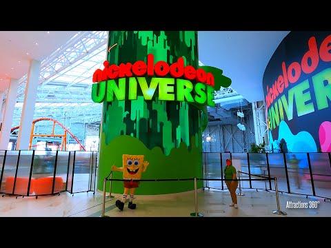 NEW Indoor Theme Park - Nickelodeon Universe - American Dream - New Jersey