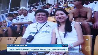 Torcedores  na expectativa para final da  Libertadores