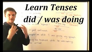 Learn English As Easy As Pie. Lesson 2 Past Simple And Past Continuous