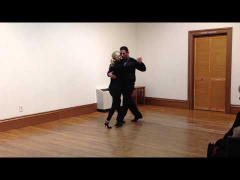 Argentine tango lesson 01.15.15 New london county, Connecticut
