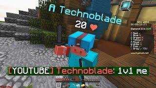 Video Technoblade vs ShotGunRaids in Bedwars MP3, 3GP, MP4, WEBM, AVI, FLV Januari 2019