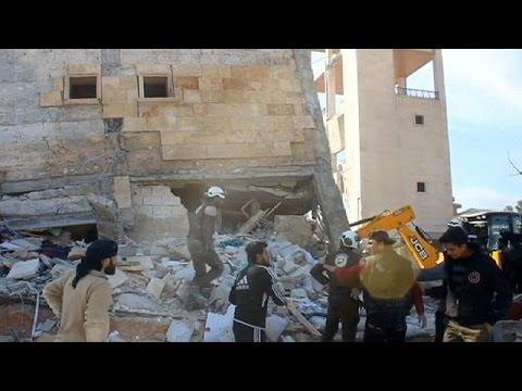 Συρία: Αθώα θύματα από βομβαρδισμούς κατά δύο νοσοκομείων