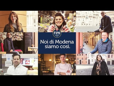 Noi di Modena - FINI | Noi di Modena siamo così