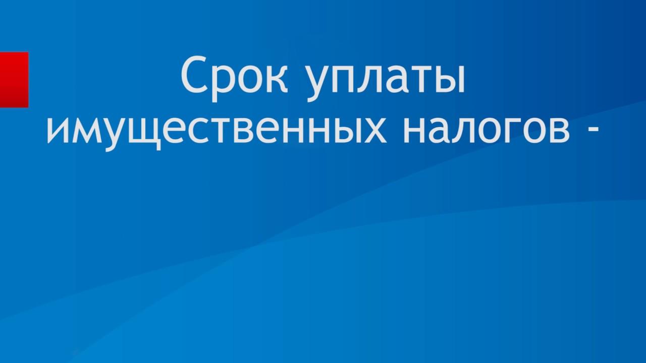 До 1 декабря жители Ижевска обязаны заплатить налоги на имущество физических лиц