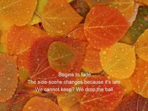 Tekst piosenki Fool's Garden - Autumn po polsku