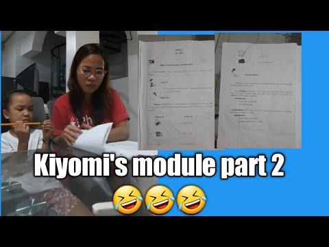 """Kiyomi's Funny Module part 2 """"sino kaya ang may mali dito"""""""