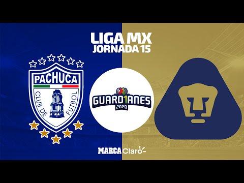 EN VIVO   Pachuca vs Pumas   Apertura 2020   Jornada 15   Liga MX