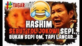 Download Video Duh! Hashim Sebut Tol Jokowi Kosong, Itu Bukan Sepi Om, Tapi Lancar! MP3 3GP MP4