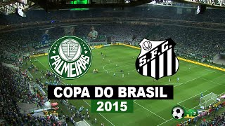 São Paulo SP / Arena Allianz Parque / 02-12-15 Copa Do Brasil 2015 / Final / Jogo De Volta Íntegra e Pênaltis Palmeiras 2 x 1 Santos em HD Gols: Dudu (2) ...