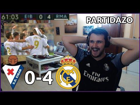 EIBAR VS REAL MADRID 0-4 REACCION | LA LIGA 2019