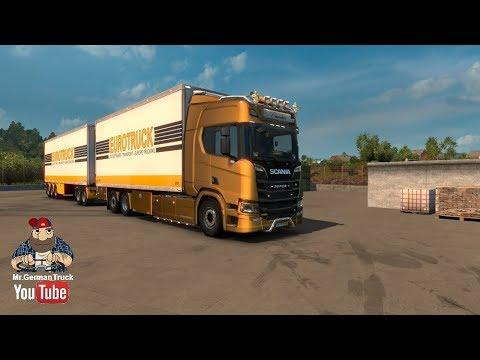 BDF Tandem Truck Pack (upd. 16/12/17) for ETS2 [1.30.x]