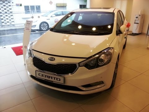 Kia Cerato Launched Malaysia Exterior Interior Walk Around HD