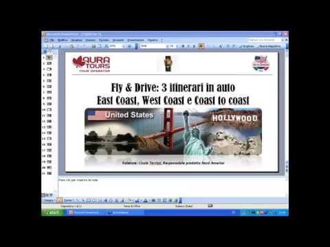Video FLY & DRIVE: Itinerari fly & drive (east coast, west coast e coast to coast) - 22 GENNAIO 2015
