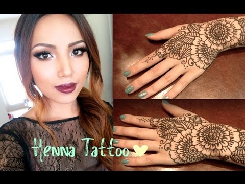 Henna Tattoo Tutorial