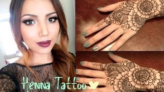 Henna Tattoo Tutorial (Tips and Tricks ) - YouTube