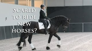 Why do I Stress & have Fear Riding New Horses - FearLESS Friday TV Ep10