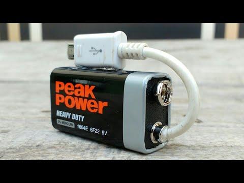 Κολπάκια με μπαταρίες των 9 volt