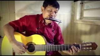 Video Bengawan Solo -  Gesang Martohartono (Fingerstyle Cover With Harmonica by Ilham Andika) MP3, 3GP, MP4, WEBM, AVI, FLV Juni 2018
