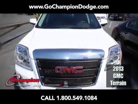 "2013 GMC Terrain for Sale - Los Angeles, Cerritos, Downey, Huntington Beach CA - PREOWNED ""SLE"" SPECIAL"
