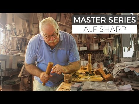 Journey of a Woodworking Master Craftsman - How Alf Sharp found his passion