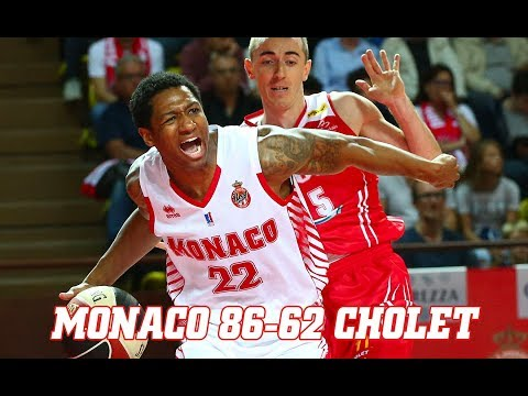 Pro A — Monaco 86 - 62 Cholet — Highlights